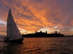 Sailing Ellis Island
