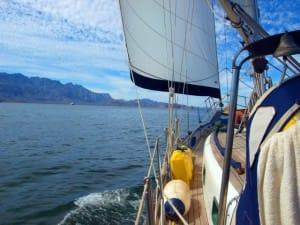 sailing baja