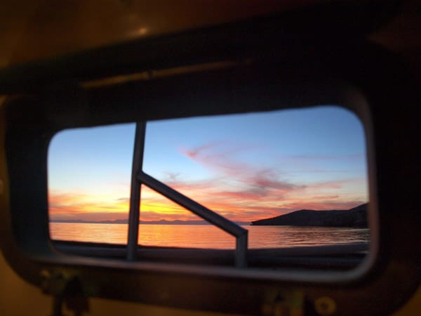 galley sunset