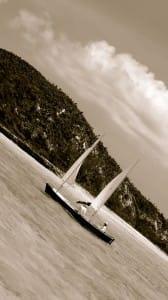 sideways sailing