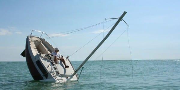 Julien Berthier's Perpetually Sinking Boat