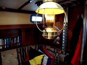 cozy belowdecks in velella