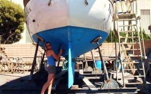 installing ssb through hull