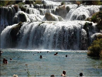 krka waterfalls