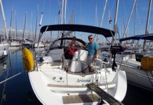 charter boat in croatia
