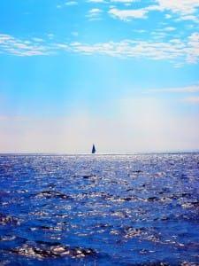sail on horizon