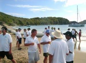 Beach Party Columbier Bay