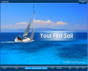 your first sail