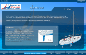 your first sail boat parts