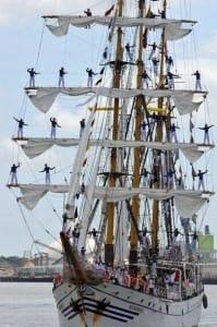 sailors in rigging
