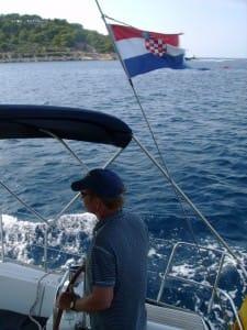 rob steering into vis