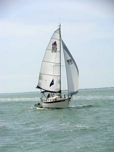 sailing wing on wing
