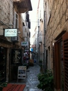 korcula street