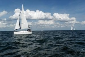 the freedom of sailing