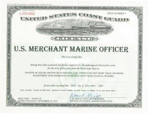 uscg license