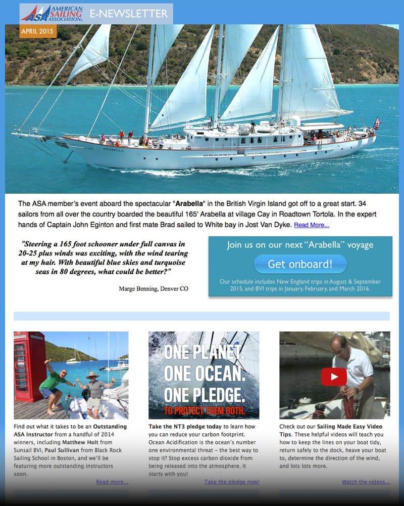 ASA E-Newsletter, April 2015