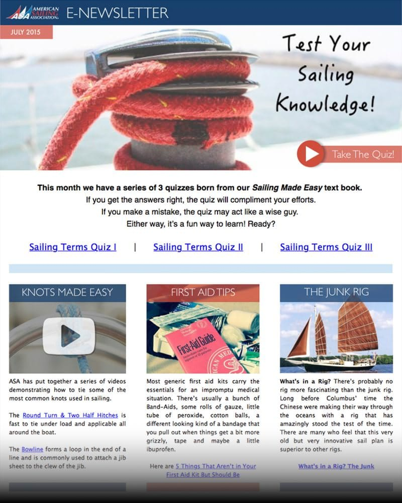ASA E-Newsletter, July 2015