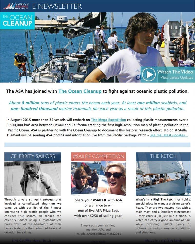 ASA E-Newsletter, August 2015