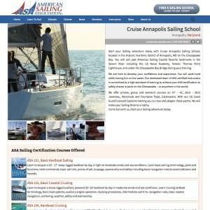 Cruise Annapolis Sailing School