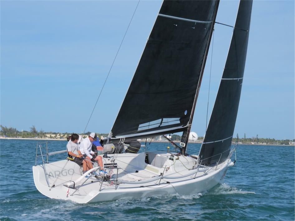 "Graham Landy Sailing on ""Argo"" at the Melges 32 Worlds"