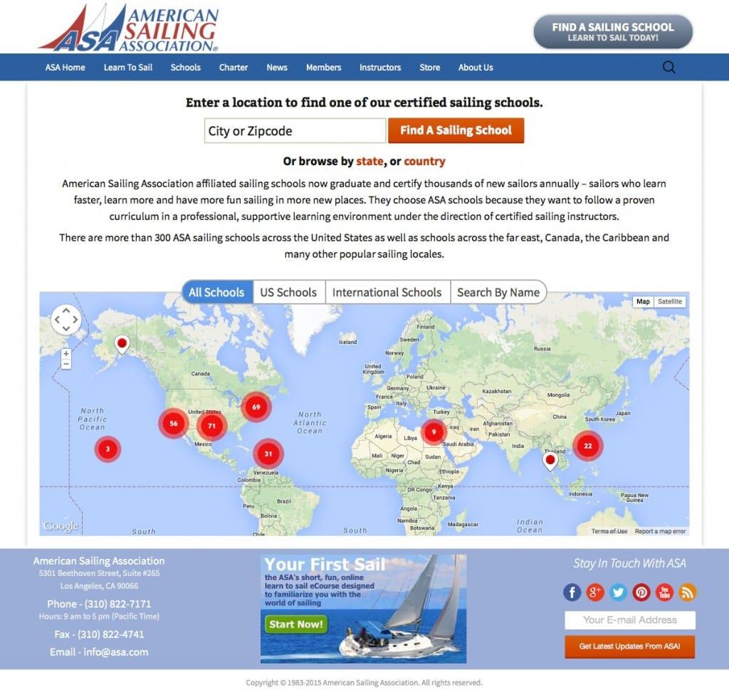 Sailing Schools - American Sailing Association