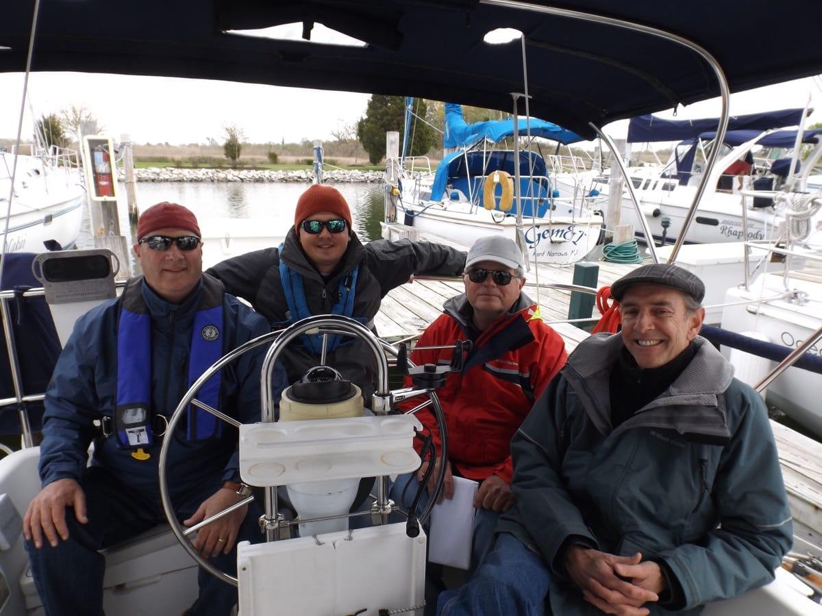 IQC 203 Sailing Instructor Graduates