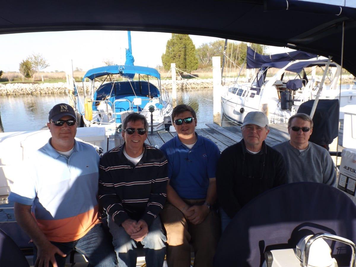 IQC 204 Sailing Instructor Graduates