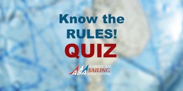 Navigation Rules Quiz