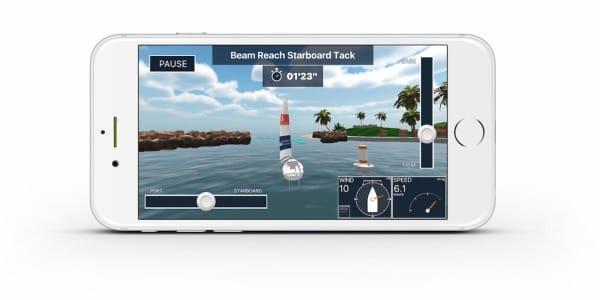 Sailing Challenge App iPhone