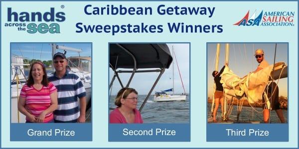 Hands Across The Sea Sweepstakes Winners
