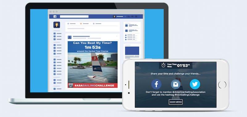 Sailing Challenge v1.1 Share Facebook