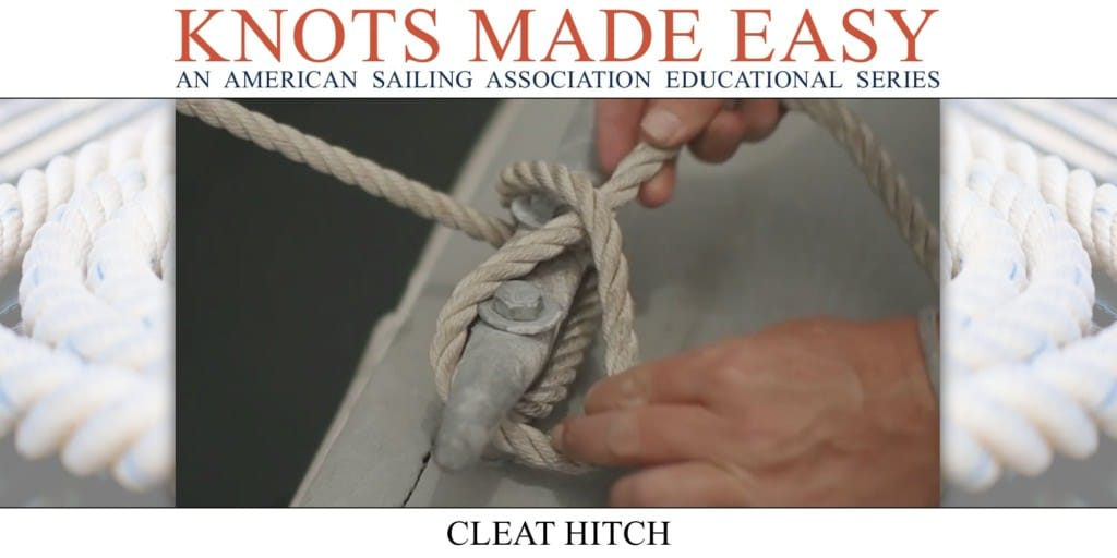 Knots Made Easy - Cleat Hitch