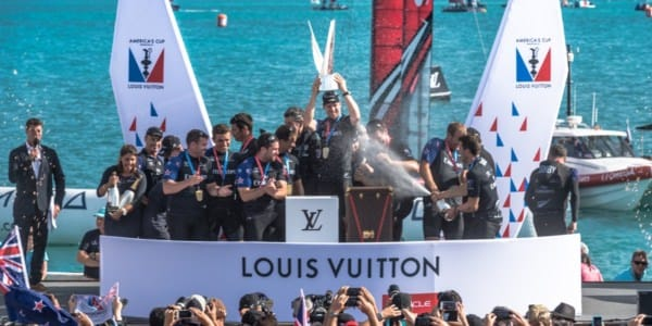 Louis Vuitton America's Cup Challenger Playoffs Finals