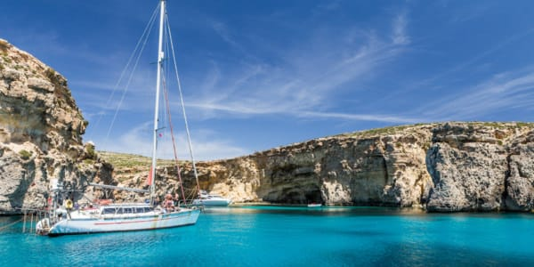 Crystal Lagoon, Comino, Malta