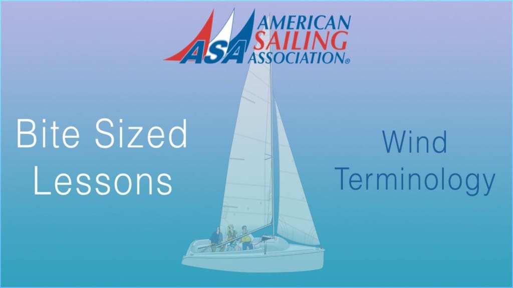 ASA's Bite Sized Lessons : Wind Terminology