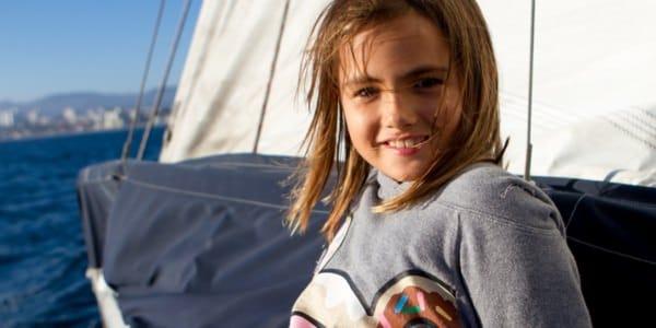 Kid Sailing