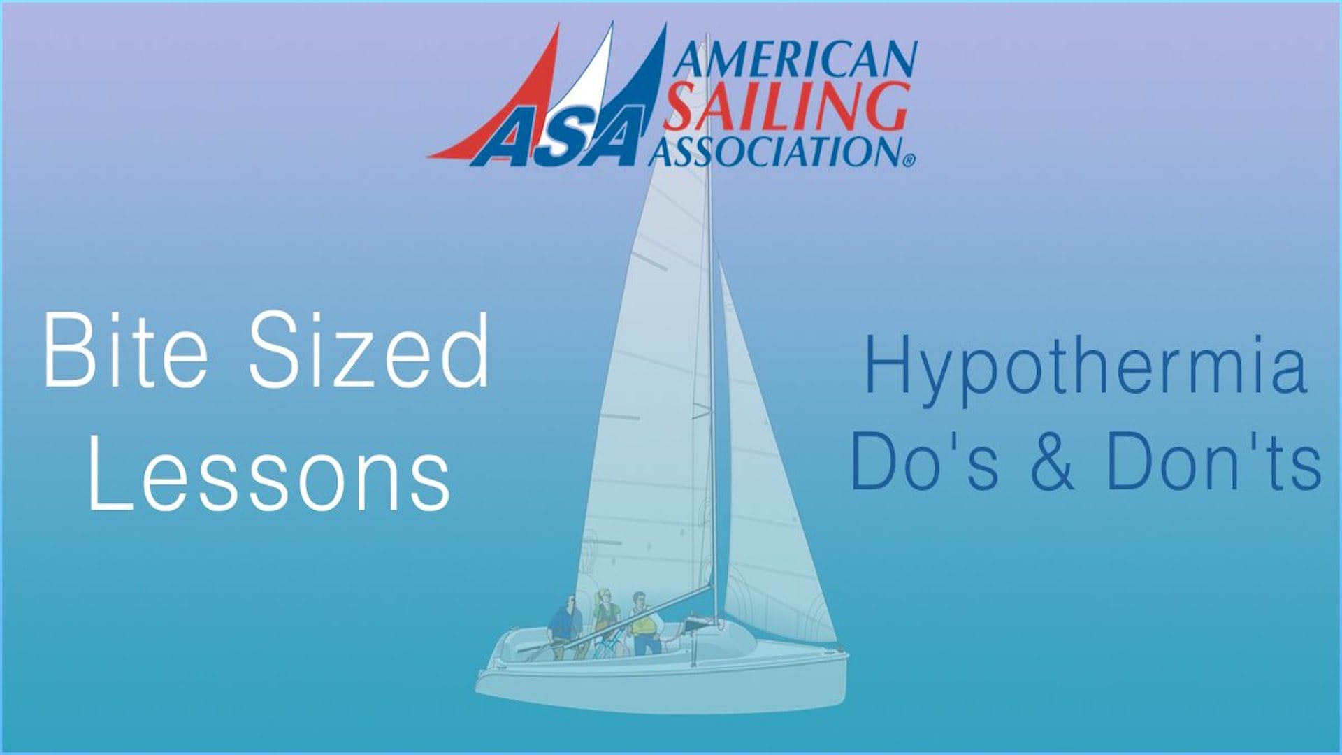 ASA's Bite Sized Lessons : Hypothermia