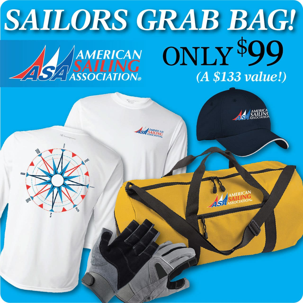 ASA's Sailor Grab Bag