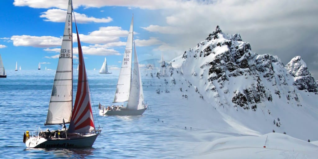 Sailing in Winter
