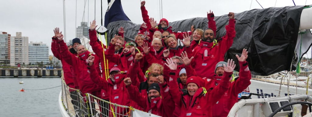 Team Garmin complete Leg 1 of the Clipper Round the World Race