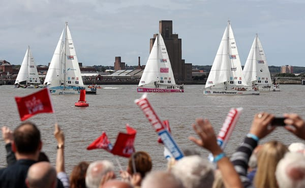 Start of Leg 1 of the Clipper Round the World Race