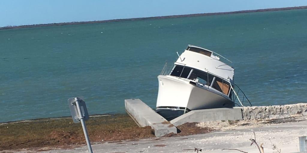 Key West Hurricane Damage